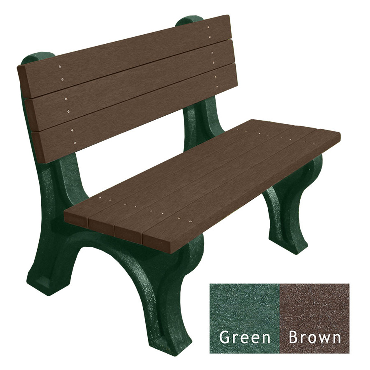 Green and Brown