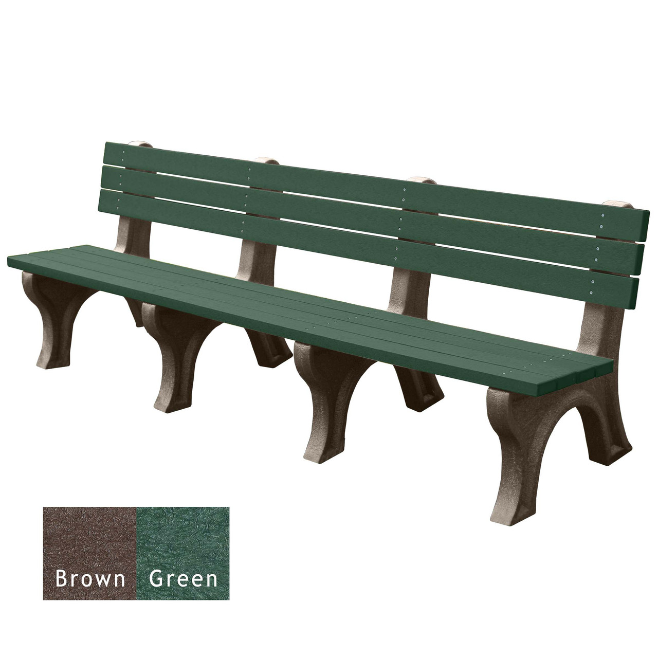 Brown and Green