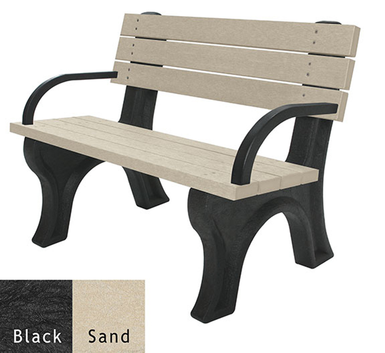 Black and Sand