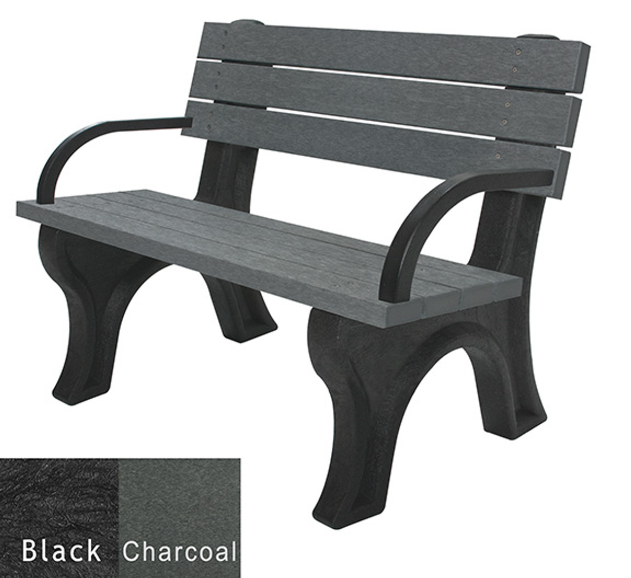 Black and Charcoal