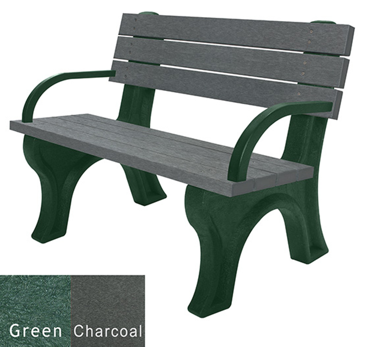 Green and Charcoal
