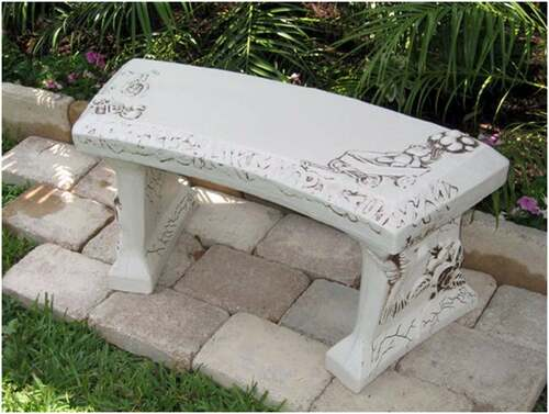 Stone Bench, Baby Personalized