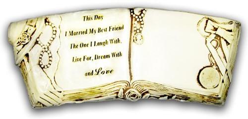 wedding/anniversary bench