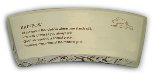 Rainbow Gate Bench