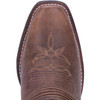 Laredo Women's Myra Brown & Sand White Western Cowboy Boots