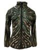 Royal Highness  Women's Avengers Gold & Green Sequin Show Shirt 209930