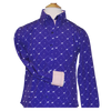 Royal Highness Girls Easy Care Microfiber Purple Horse Show Shirt