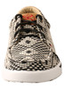 Hooey Twisted X Women's Black & White Graphic Loper Casual Shoe WHYC017