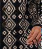 Wrangler Black Aztec Western Hooded Cardigan