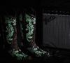 Corral Women's A3753 Embroidered Glow In The Dark Western Cowgirl Boots