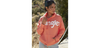 Wrangler Women's Retro Orange Logo Hoodie LWK1150