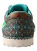 Twisted X WZX0002 Women's Zero X  EcoTWX Turquoise Casual Shoe