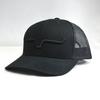 Kimes Ranch Weekly Trucker Hat Black Cap
