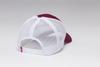 Kimes Ranch Shielded Trucker Hat Cardinal Red & White Cap