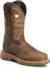 """Double H Women's 12"""" WorkFlex Waterproof Composite Safety Square Toe Cowgirl Western Work Boot DH5155"""