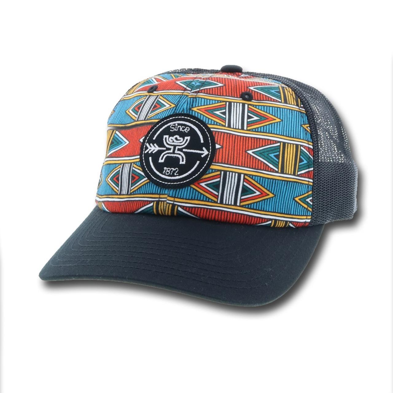 Hooey Quake Aztec Print Ball Cap 1842T-BL - Jackson s Western 1bd87517bad9