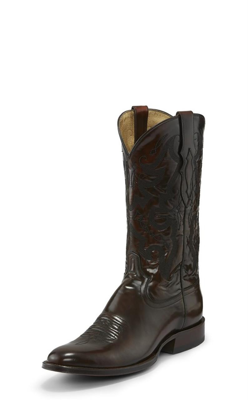 80aa25f6167 Tony Lama Patron Sangria Medium Round Toe Cowboy Boot