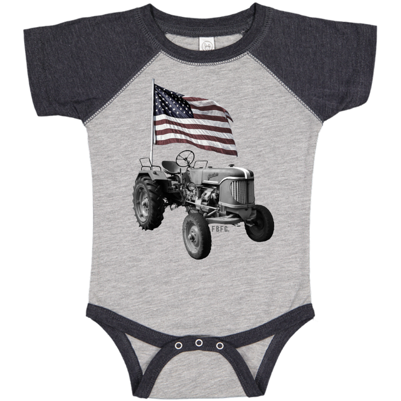 All American Farmer Infant One Piece