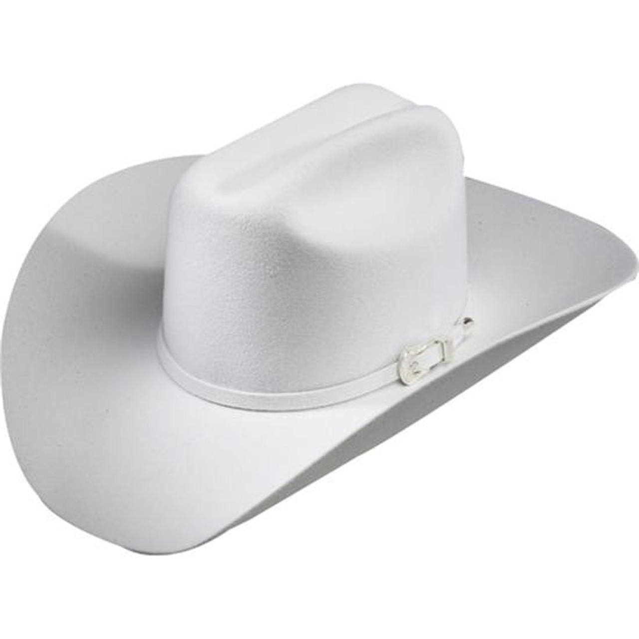 BAILEY LIGHTNING 4X WHITE FELT COWBOY HAT 4145 - Jackson s Western f17f52cd226
