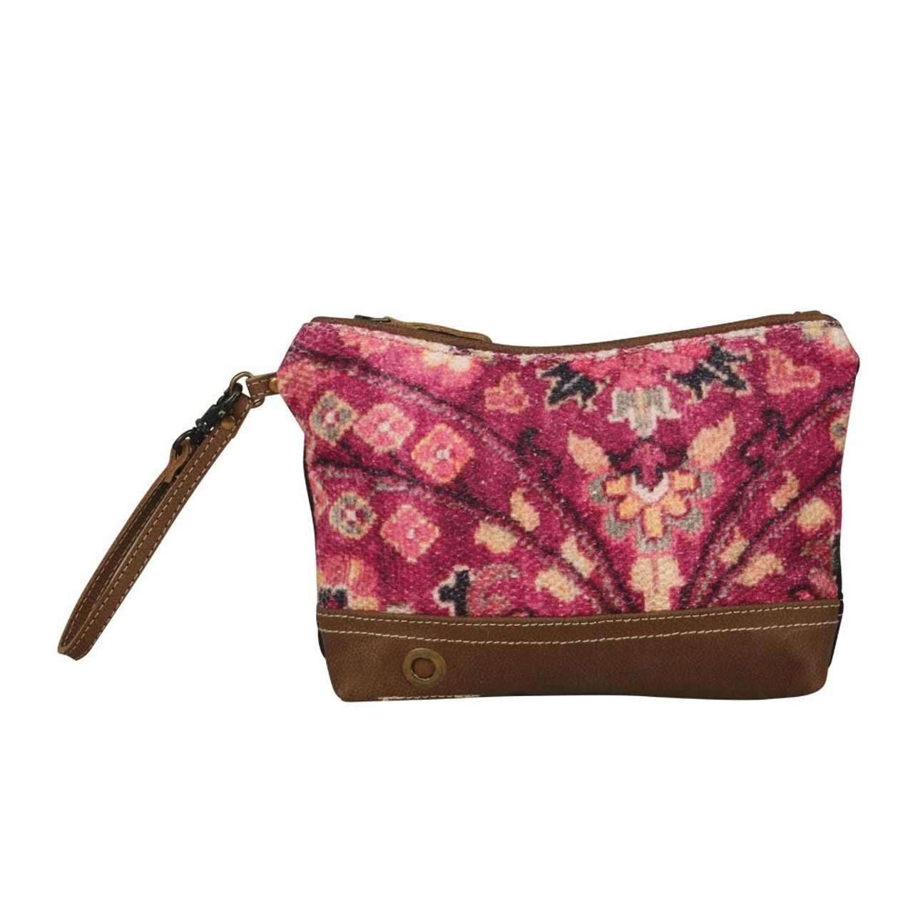 Myra Bags Women S Matchless Floral Pouch Purse S 2119 Jackson S Western Upcycled canvas handbags myra handbags offers a nature friendly canvas & leather handbag. usd