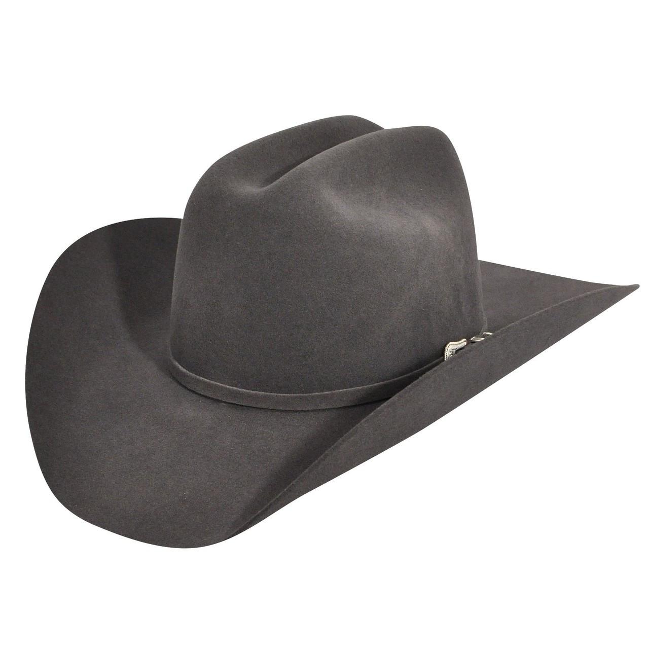 27d6ec52d40 BAILEY 4X STEEL LIGHTNING FELT WESTERN COWBOY HAT W0604A - Jackson s ...