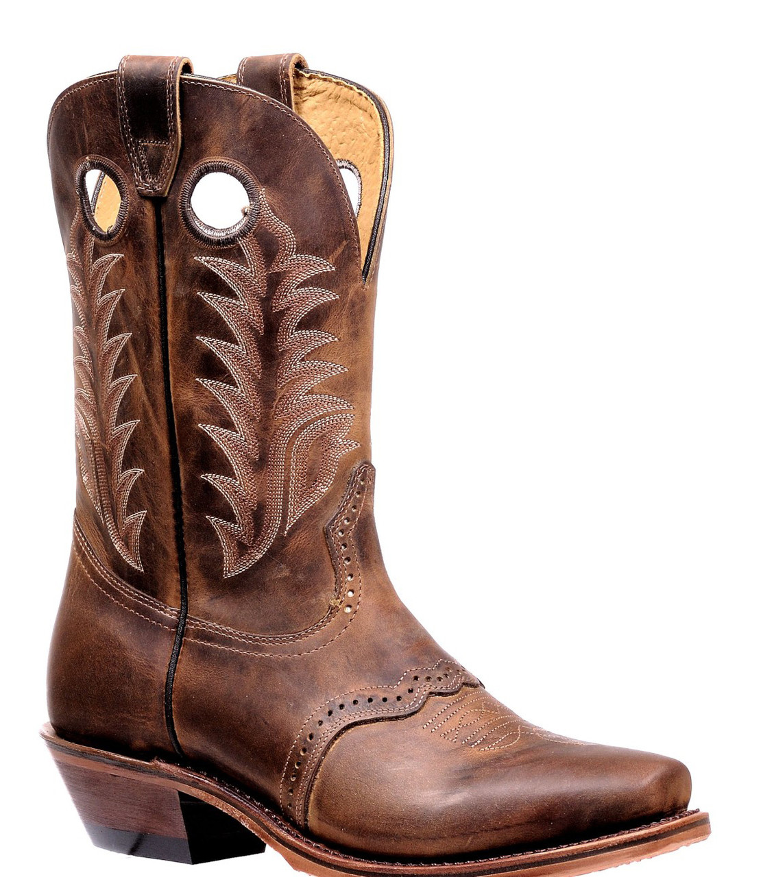 376f8f36cdc Boulet Men's Brown Rider Challenger Cowboy Boots 7774