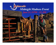 It's Midnight Madness at Jackson's Western Store