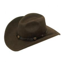 cfdfd8cdf DOUBLE S BLACK DAKOTA CRUSHABLE FELT COWBOY HAT 7211001 - Jackson's ...