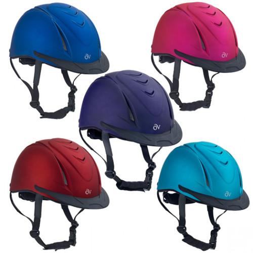 Ovation Metallic Schooler Equestrian Helmet 469765