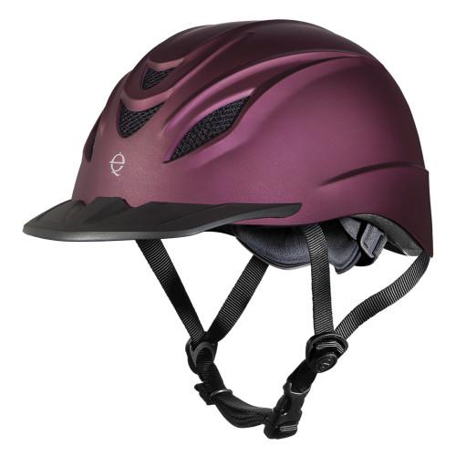 Troxel Intrepid Mulberry Riding Helmet