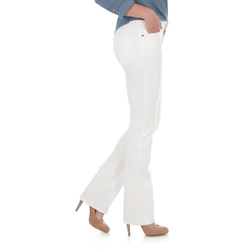 Wrangler Womens Redford Mid Rise Straight Leg Jean 9MWTRD