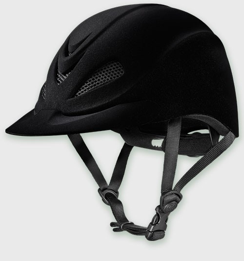 Troxel Black Capriole English Show Helmet 04-341