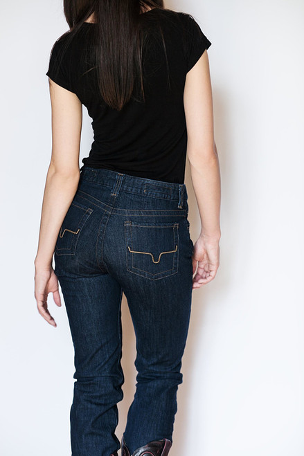 Kimes Ranch Women's Betty Mid Rise Western Jeans