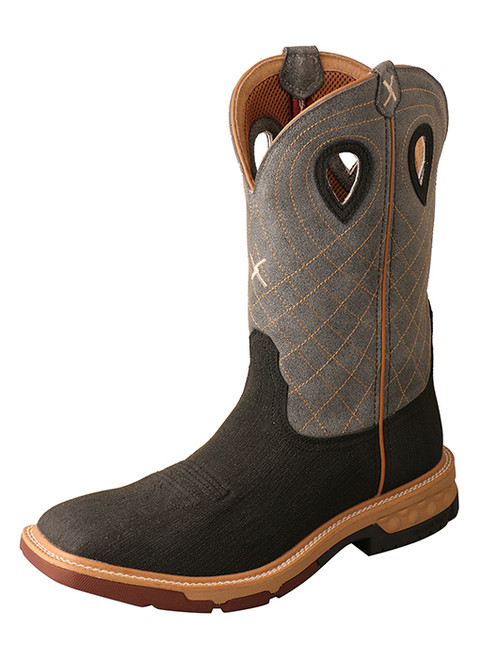 Twisted X Men's Cellstretch Rubberized Alloy Safety Toe Western Work Boot MXB002