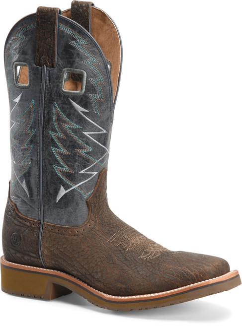 Double H Men's Fernandes Square Toe Cowboy Western Work Boot  DH7012
