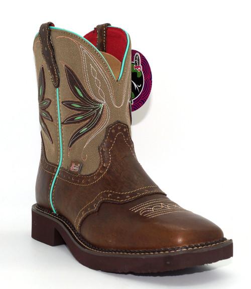 Justin Women's Gypsy Nettie Tan Western Cowgirl Boot L9536