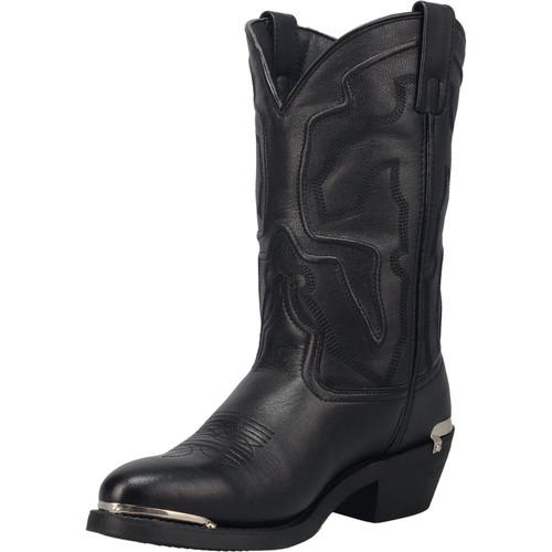 Laredo Men's Black Cowboy Toe Western Cowboy Boot