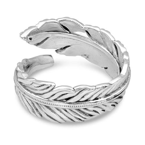 Montana Silversmiths Joyful Feather Sterling Ring Size 7