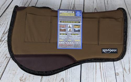 "Reinsman 34982-28 Multi-Fit Contoured Trail Saddle Pad 1"""