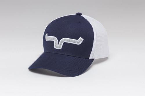 Kimes Ranch Soft Serve 110 navy Trucker Hat Mesh Ball Cap