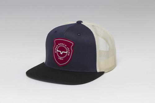 Kimes Ranch Relative Trucker Hat Navy Ball Cap