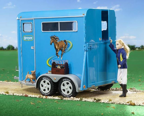 Breyer 2617 Traditional Two Horse Trailer