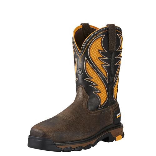 Ariat 10020072 Men's Intrepid  VentTEK Comp Safety Toe Western Work Boot