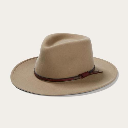 Stetson Bozeman Mushroom Tan Crushable Outdoor Western Hat