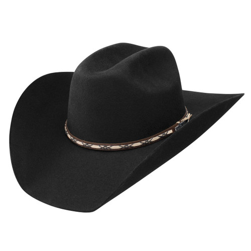 Resistol Jason Aldean Amarillo Sky Black Western Cowboy Hat