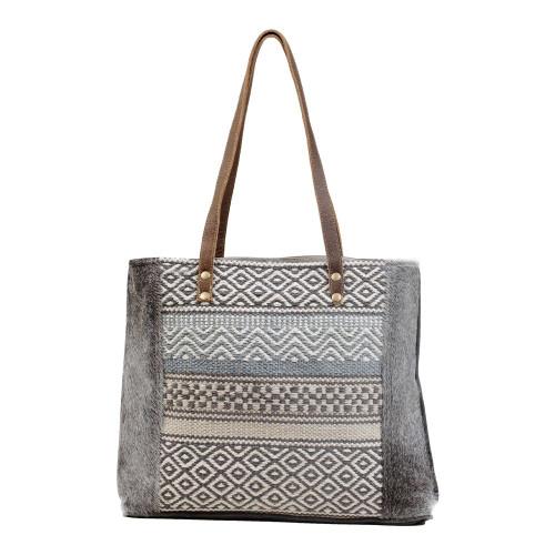 "Myra Bags Tribal Tote Bag ""Neighbor's Envy"" S-3049"