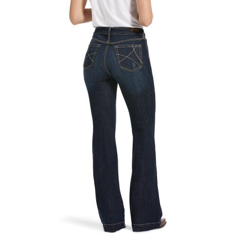 Ariat Women's Slim Trouser Jean Ella Wide Leg 10032550