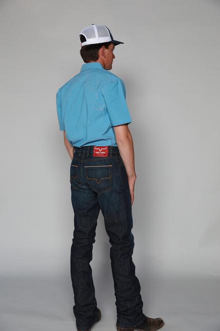 Kimes Ranch Men's Roger Slim Fit Bootcut Western Jean