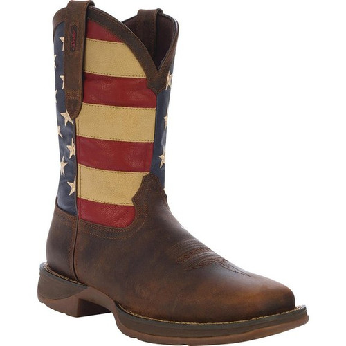 Durango Men's Rebel Patriot USA Flag Cowboy Boot