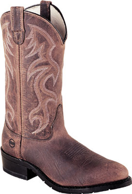 "DOUBLE H MEN'S 12"" DOMESTIC AG7 STEEL TOE WORK WESTERN COWBOY BOOTS  2282"